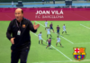 Joan Vilá, Director de Metodología del F.C. Barcelona, esboza cómo trabajan en la cantera